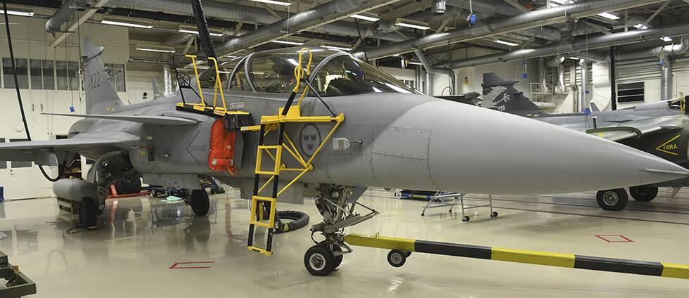 Rejäl minskning av svensk vapenexport