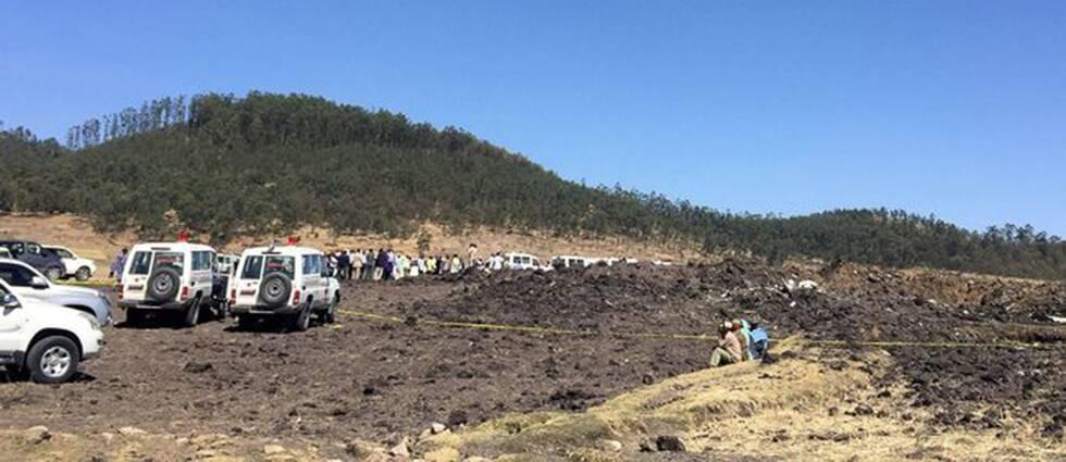 Fyra svenskar döda i flygkrasch i Etiopien