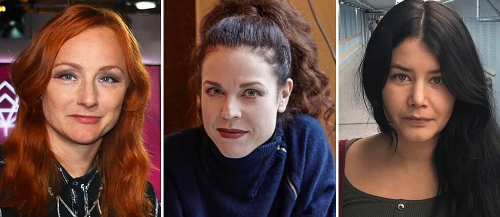Ika Johannesson, Jessika Gedin och Amanda Horne är tre av dem som står som avsändare till Expressen-artikeln där de kräver förändring av SVT:s personalpolitik.