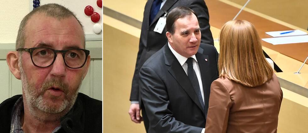 Fackförbundet Pappers ordförande Matts Jutterström är mycket besviken på Socialdemokraternas politik efter Januariavtalets 73 punkter.