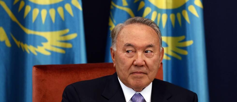 Nursultan Nazarbajev.