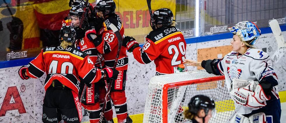 Luleå tog ledningen med 1-0 direkt mot Linköping i den femte och avgörande matchen.