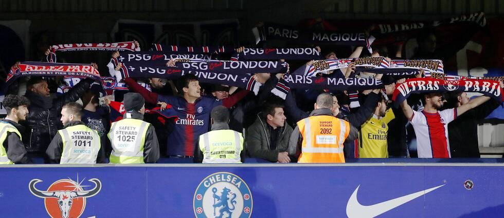 PSG:s klack i matchen mot Chelsea