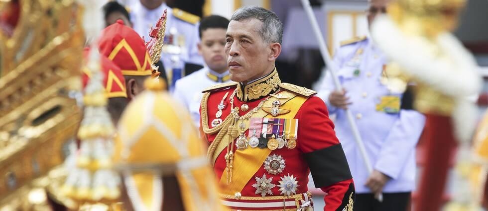 Thailands kung Maha Vajiralongkorn.