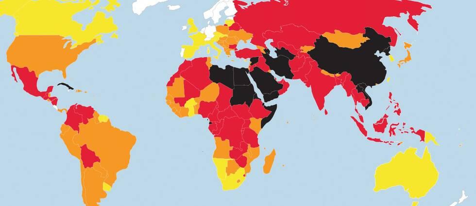 Pressfrihetsindex upprättas årligen av den internationella press- och yttrandefrihetsorganisationen Reportrar utan gränser.