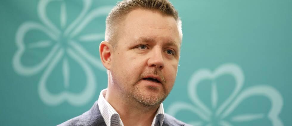 Fredrick Federley, Centerpartiets toppkandidat till EU-valet.