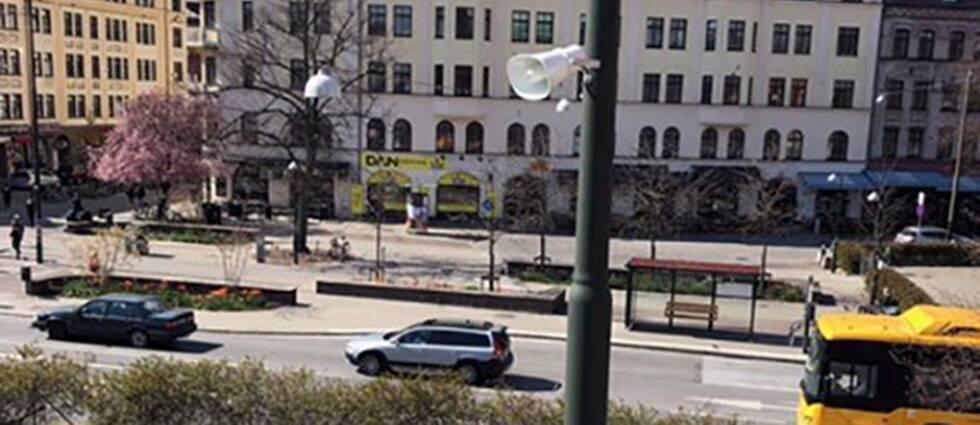 Malmöpolisen blir först i landet med att via högtalare skicka meddelande på offentliga platser.