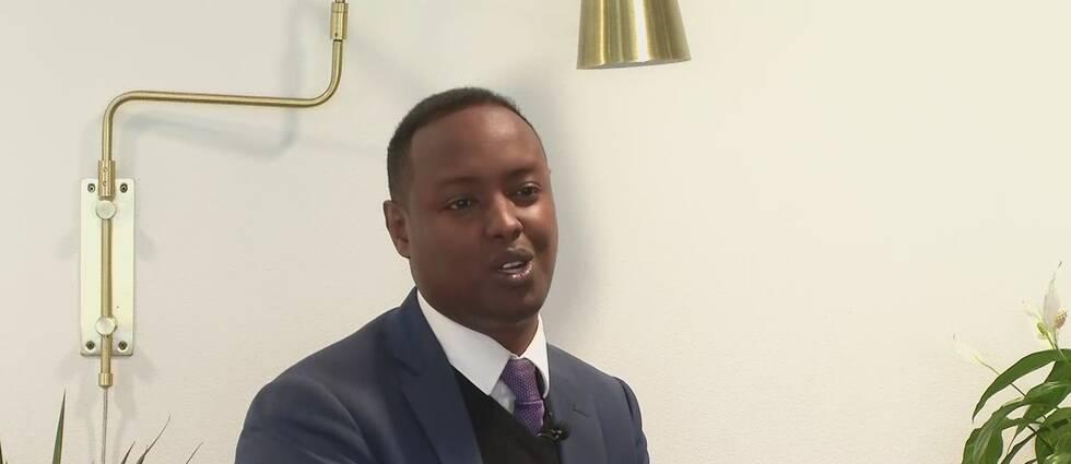Ahmed Abdirahman, grundare av Politikerveckan i Järva