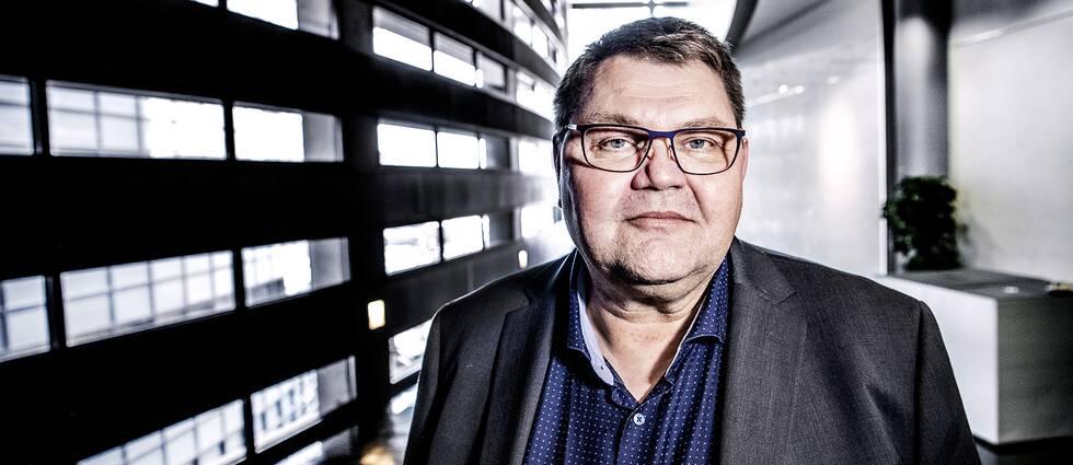 Peter Lundgren är Sverigedemokraternas toppkandidat till EU-valet.
