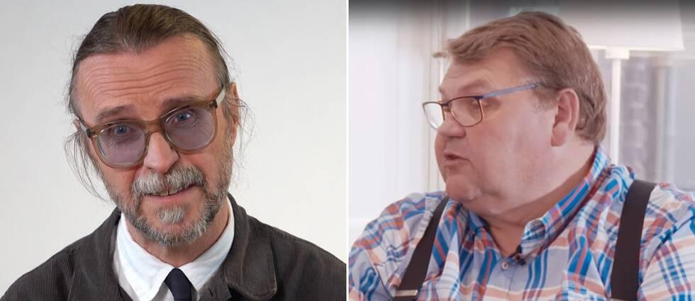 Charlie Stjernberg och Peter Lundgren.