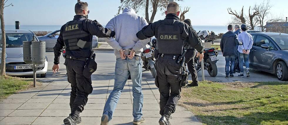 De två misstänkta svenska terroristerna greps i Grekland 2016