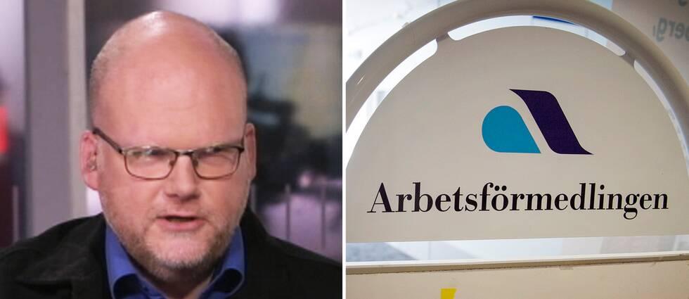 SVT:s reporter Mikael Grill
