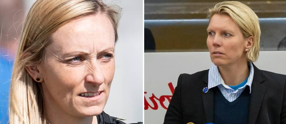 Elísabet Gunnarsdóttir och Ylva Martiensen är tränare i Kristianstad DFF respektive Damkronorna.