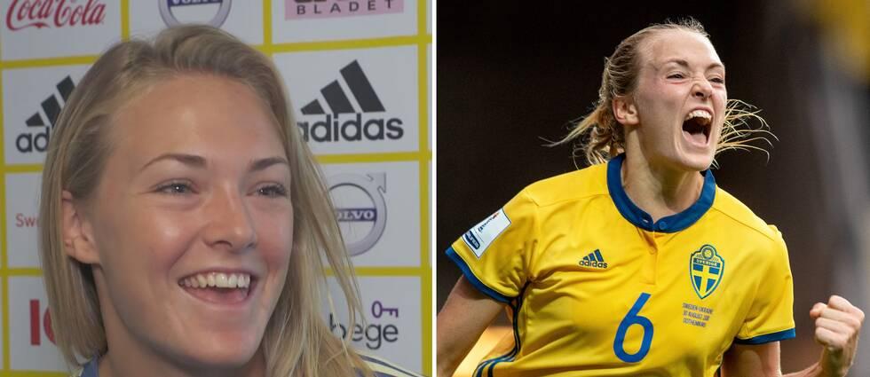 Magdalena Eriksson pekas ut som landslagets vinnarskalle inför VM.