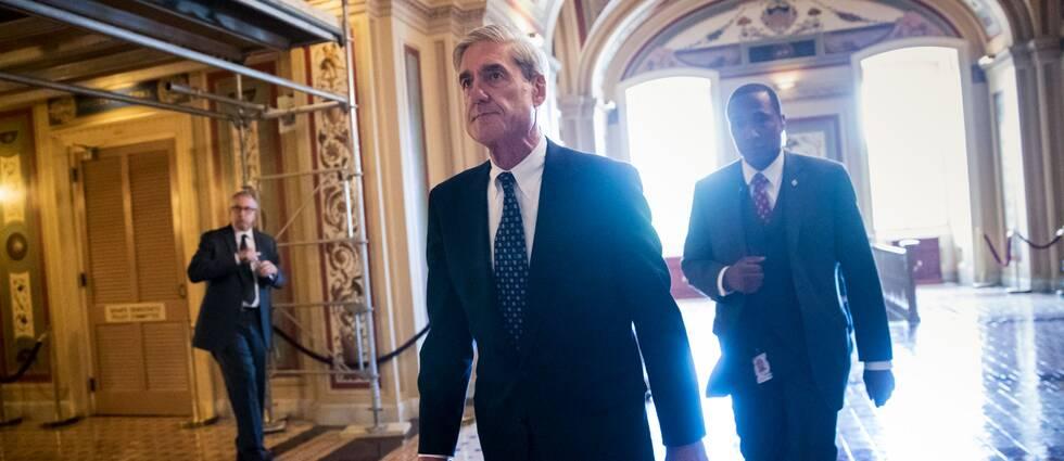 Den särskilde åklagaren Robert Mueller.