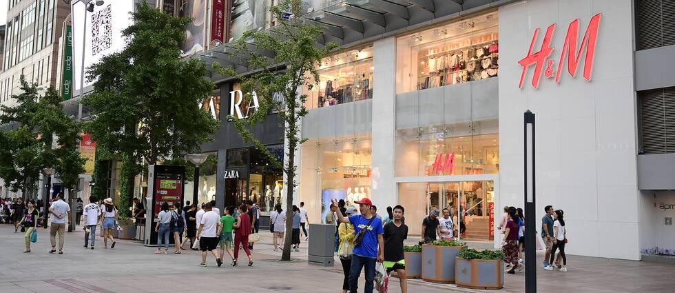 H&M-försäljningen i lokala valutor ökade 6 procent under tremånadersperioden. Arkivbild.