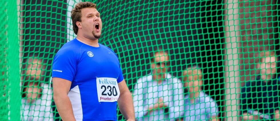 Daniel Ståhl vann klart i Sollentuna.
