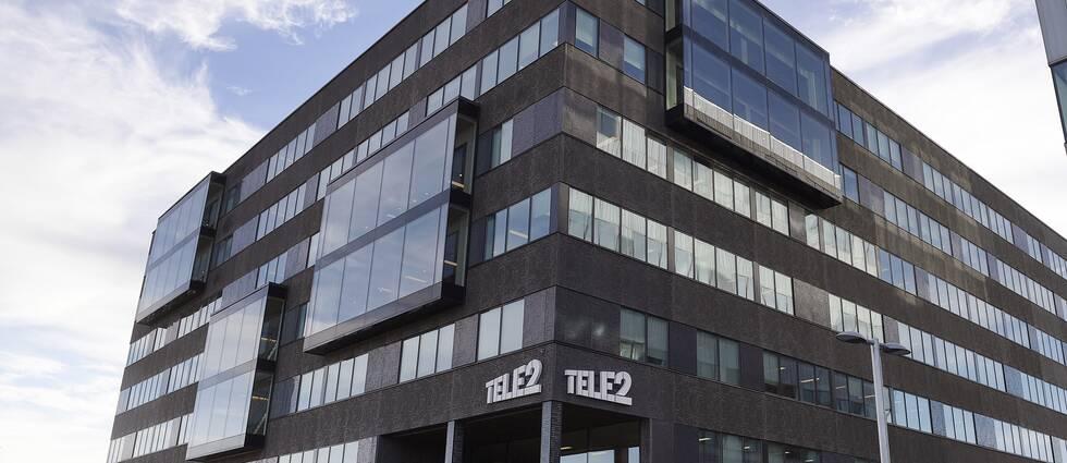 Tele2:s kontor.