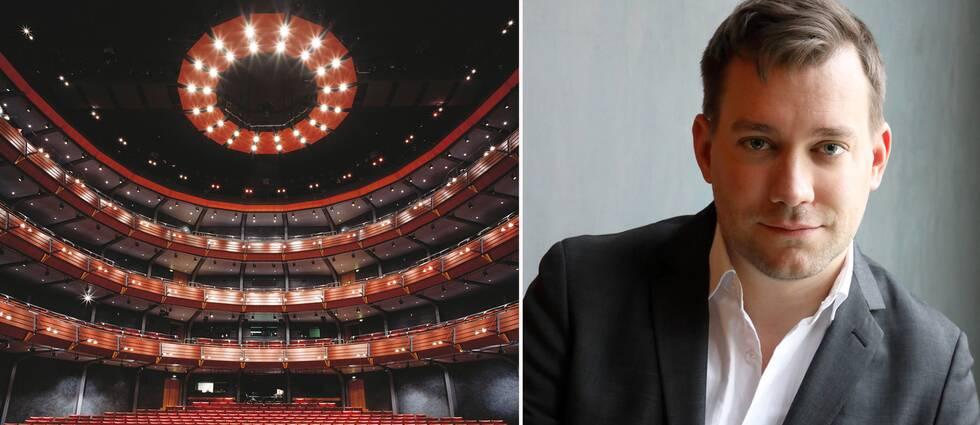 Henning Ruhe, ny konstnärlig chef för Opera/drama på GöteborgsOperan