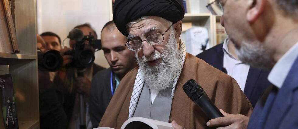 Irans högste ledare Ali Hosseini Khamenei.