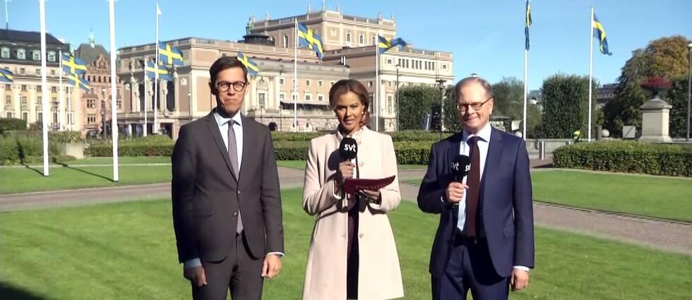 Love Benigh, Katarina Sandström och Mats Knutson