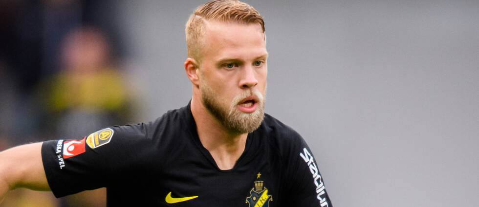 Daniel Sundgren i AIK.