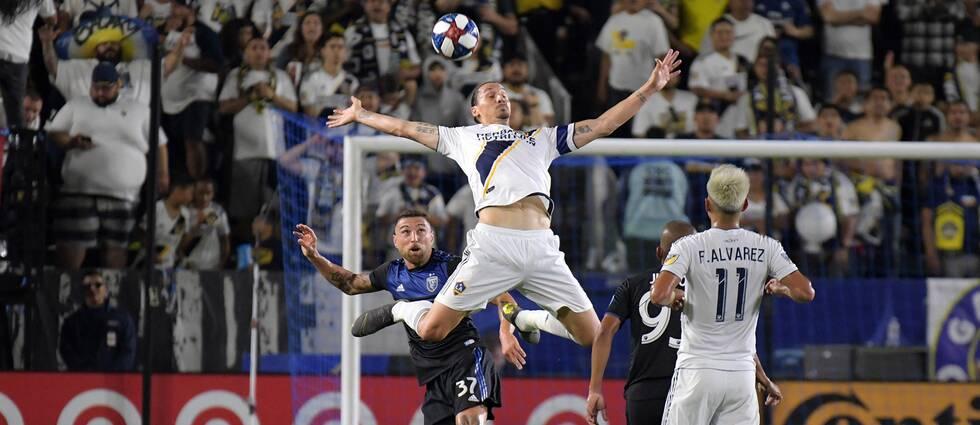 Zlatan Ibrahimovic gick mållös från Kalifornienderbyt.
