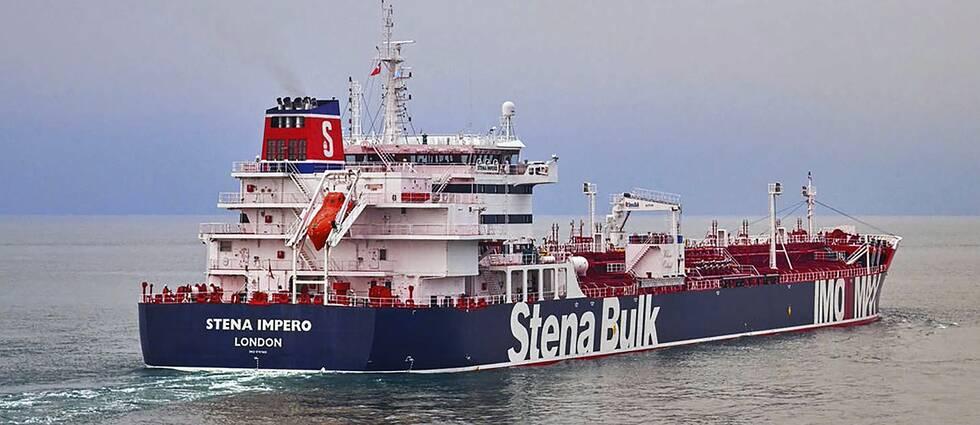 Fartyget Stena Impero.