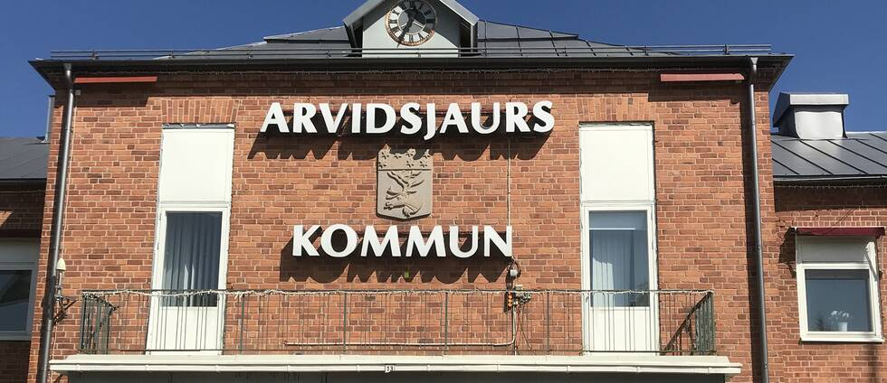 Arvidsjaur kommunhus.