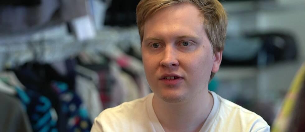 En kurs och ett jobb i en butik blev vägen ut för Mathias Bergström