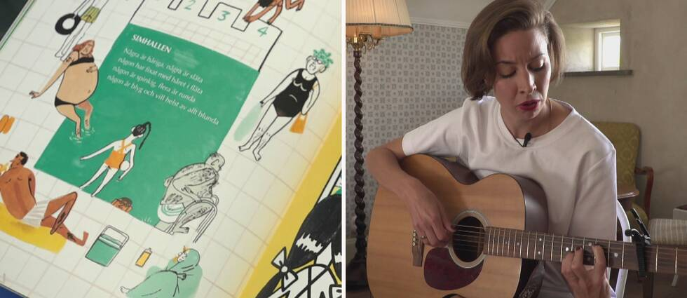 Artisten Britta Persson samarbetar med författarna och illustratörerna Emma och Lisen Adbåge på albumet Folk – dikt och toner om personer.