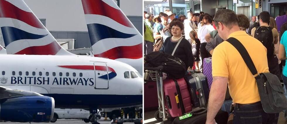 Brittisk pilotstrejk – så drabbas svenska resenärer