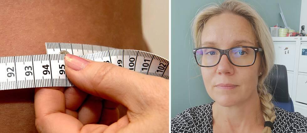 Skolsköterskan Kerstin Kristiansen tycker inte att mätning av bukomfång ska bli rutin inom skolhälsovården.