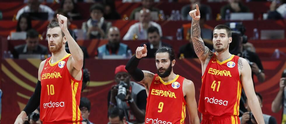 Ricky Rubio var nyckeln i Spaniens finalvinst mot Argentina.