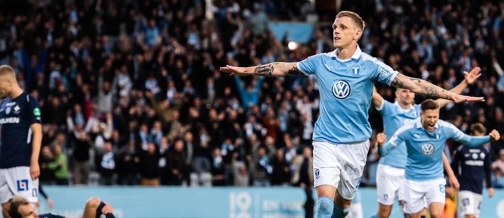 Sören Rieks avgjorde för Malmö FF