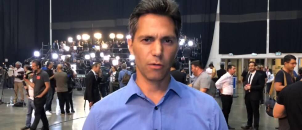 Samir Abu Eid, SVT:s utrikesreporter.