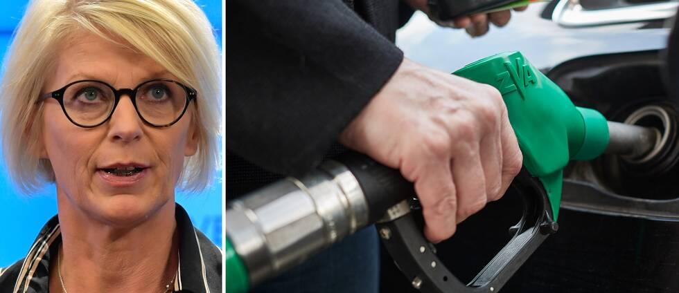 Moderaternas ekonomisk-politiska talesperson Elisabeth Svantesson.
