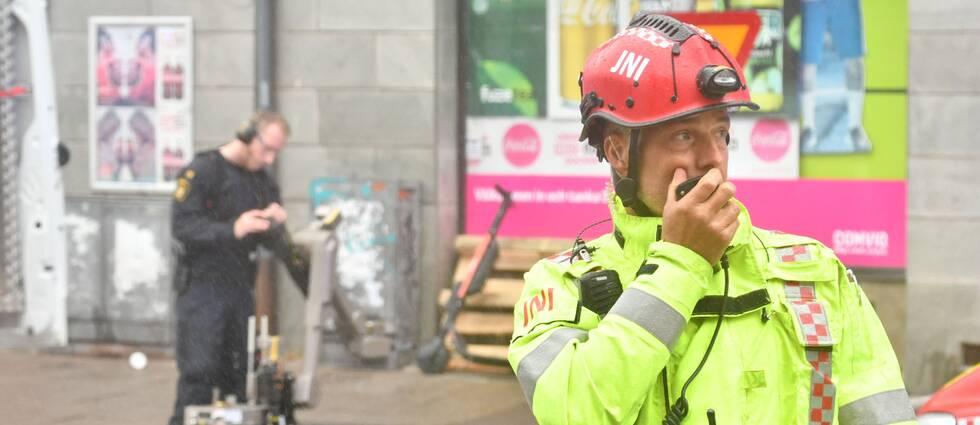 Det misstänkta föremålet ska ha hittats utanför en fastighet på Amiralsgatan i Malmö på fredagsmorgonen.