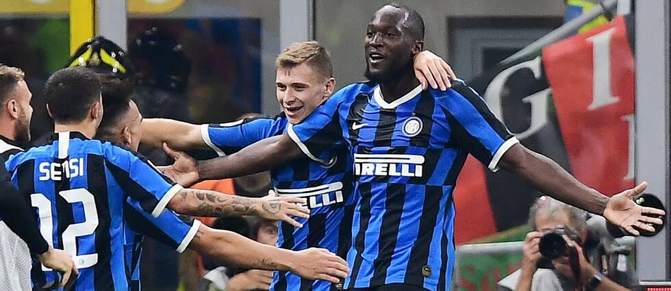 Romelu Lukako gjorde ett av Inters mål.