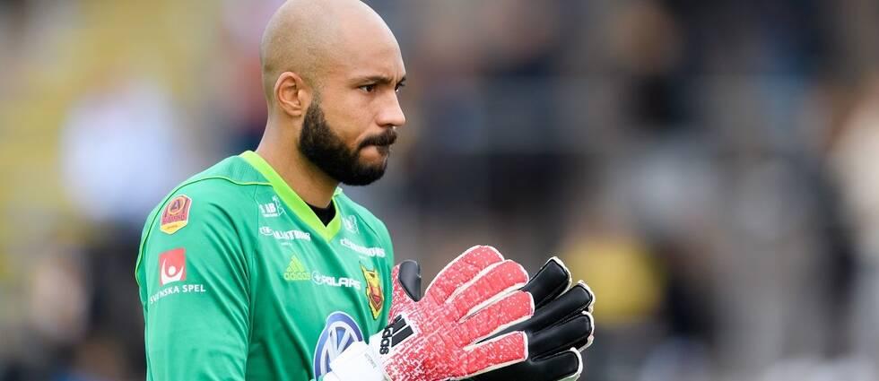 Östersunds FKs målvakt Aly Keita
