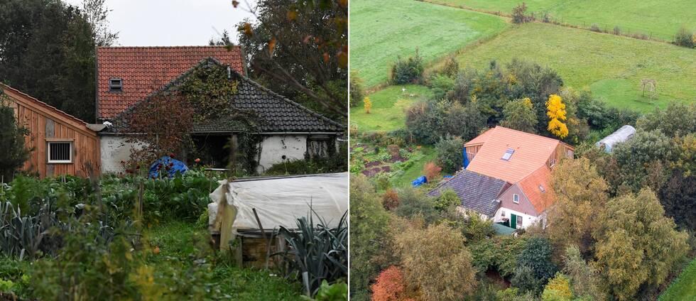 Gården i Ruinerwold i Nederländerna där en familj ska ha hittats som varit inspärrade i upp emot nio år.
