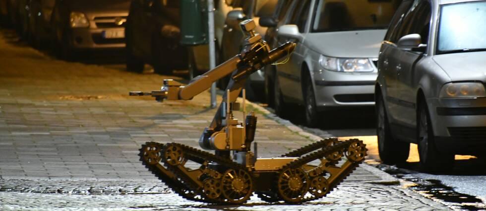 En bombrobot