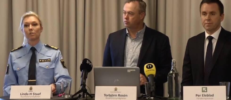 Polisen, Försäkringskassan och Säpo håller presskonferens