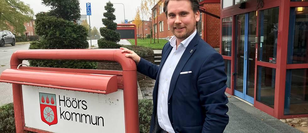 Det finns anledning för kommunalråd Johan Svanberg (M) att vara nöjd när Höör nu visar plusresultat på sista raden.