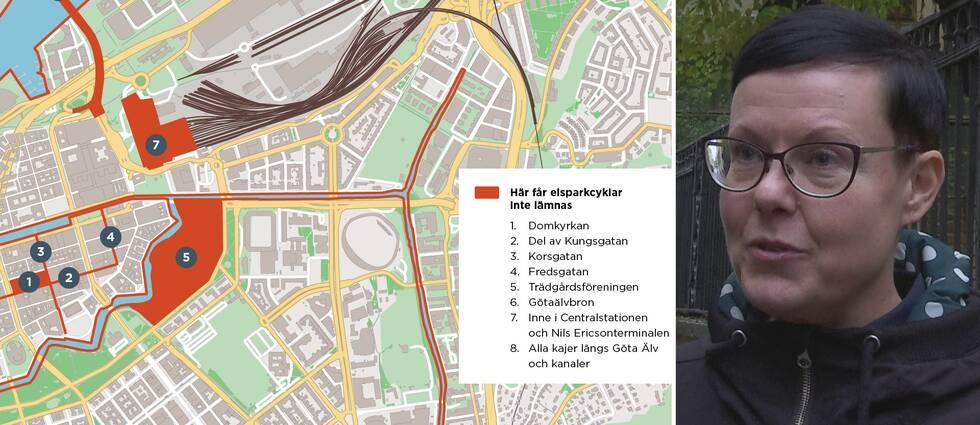 Nu regleras elsparkcyklarna i Göteborg. Malin Månsson