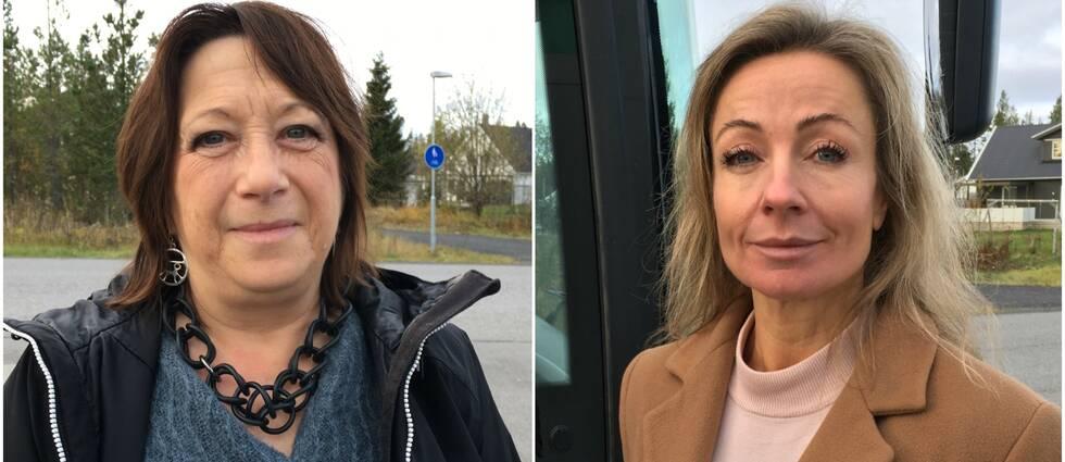 Karin Thomasson (MP), ordförande i Klimatrådet och Susanne Löfgren, länsråd.