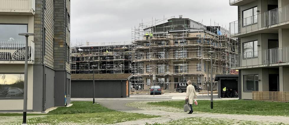 I Kristianstad byggs det för fullt. Det är en av de platser i Skåne där byggtakten väntas öka nästa år.