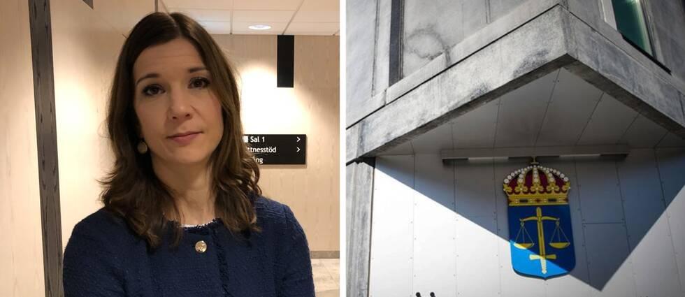 Sara Nilsson, åklagare.