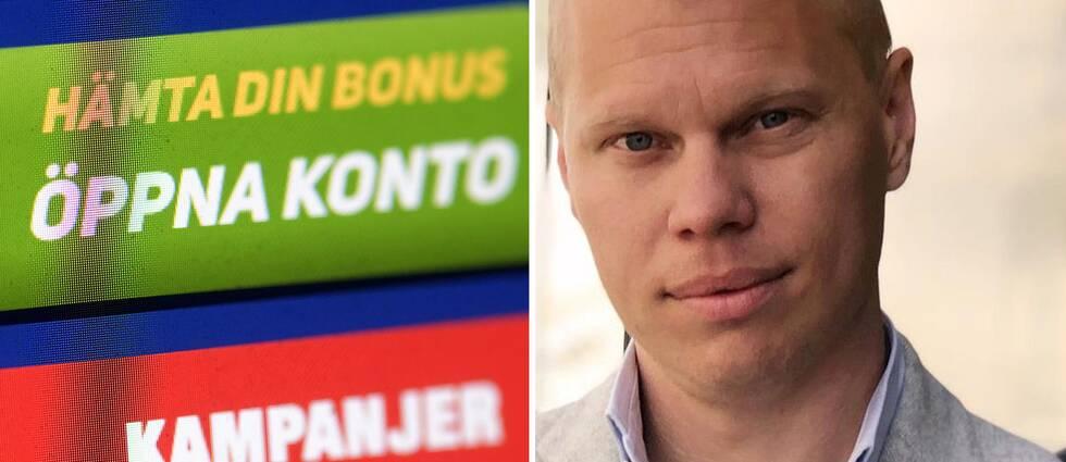 Erik Skarp, vd på spelbolaget Bethard.