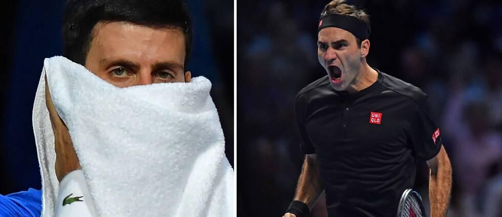 Roger Federer besegrade Novak Djokovic för första gången på fem år.